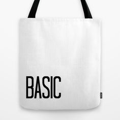 Basic Tote Bag by dewice - $22.00