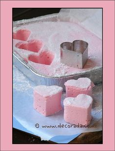 It's Written on the Wall: Valentines Day Marshmallows