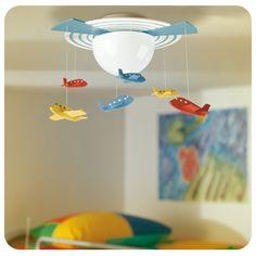 #Lámpara #Dormitorio #Niños #Infantil #Kids #BedRoom #Lamp #Plane