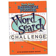 Uncle Johns Bathroom Reader Word Search Book!