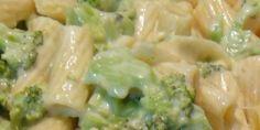 Massa com molho de brócolis e requeijão