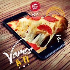 Food Graphic Design, Food Poster Design, Food Design, Pizza Hut, Comida Pizza, Olive Garden Recipes, Food Advertising, Baked Chicken Recipes, Food N