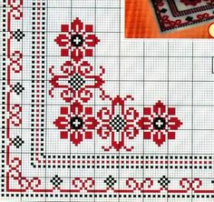 Mini Cross Stitch, Cross Stitch Borders, Cross Stitch Flowers, Cross Stitch Designs, Cross Stitching, Cross Stitch Embroidery, Embroidery Patterns, Cross Stitch Patterns, Chicken Scratch Embroidery