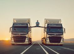 Watch In Amazement As #VanDamme Performs 'The Epic Split' Between Two Volvo Trucks! Hit the pic to see this awesome stunt!