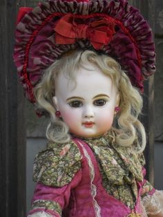 ~~~ French Bisque Bebe E.J. size 7 by Emile Jumeau ~~~ from whendreamscometrue on Ruby Lane