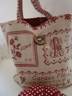 a sweet embroidered bag!