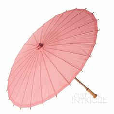 Pink 32 Inch Paper Parasol