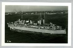 USS Howard W. Gilmore AS-16 - 3.5 x 5.5 Photograph.  My husband served on this Submarine Tender.
