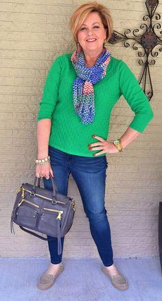 Sweter verde