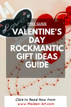 Valentine's Day Rockmantic Gift Ideas Guide. Learn more on Maiden-Art.com #valentinesday #valentine #gift #gifts #giftforher #giftforhim #women #fashion #jewelry