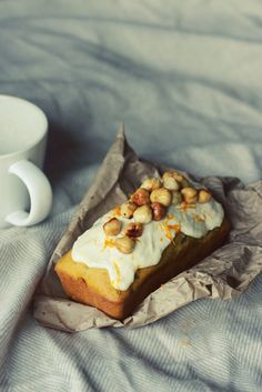 buttermilk pumpking and cacao loaves