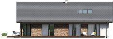 Projekt domu Endo 3 187,85 m2 - koszt budowy - EXTRADOM Attic, Outdoor Decor, House, Home Decor, Loft Room, Decoration Home, Home, Room Decor, Attic Rooms