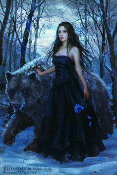 Imagen de bear and forest