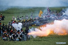 waterloo 200th battle reenactment anniversary - Google Search