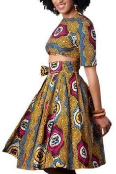 Amara Wrap ~African Prints, African women dresses, African fashion styles, African clothing, Nigerian style, Ghanaian fashion by maryellen