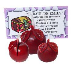 Manzana Roja para tarjetas hecho a mano