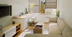 Para quem tem pouco espaço em casa e precisa ter um cantinho de trabalho, uma ótima opção é montar e decorar seu ambiente de trabalh...