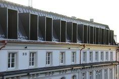 Das 1890 erbaute Gründerzeithaus wurde im Zweiten Weltkrieg schwer beschädigt und 1950 saniert sowie um ein viertes Obergeschoss erweitert. © Höfler & Stoll Architekten