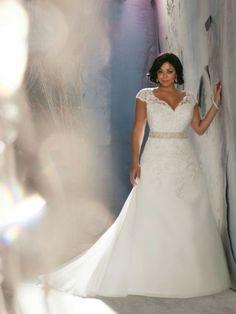 Plus size New white/ivory Wedding dress Bridal Gown custom size 6-8-10-12-14-20+