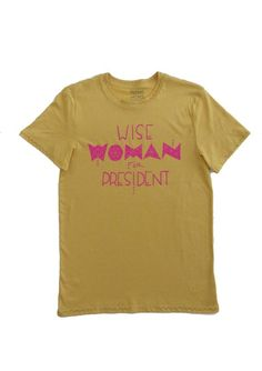 #WomanForPresident #WiseWoman #lesbian #Matriarchy #WomanPower #PinkPussy #pussyhat #womensmovement #MushpayMensa, #Sacredgeometry Simple Definition, The Four Agreements, Wise Women, Custom Fonts, Powerful Women, Friends In Love, Cotton Tee, Lesbian, Organic Cotton