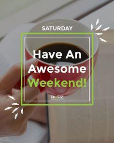 Happy Saturday! #happysaturday #weekend #motivation