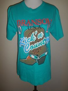 Vintage cowboy cowgirl   boots tee  t shirt  by ATELIERVINTAGESHOP