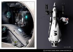 Daniel Simon's Cosmic Motors
