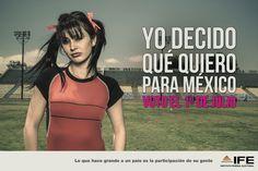Responsible Vote IFE Campaign 2012 Mexico by Abelardo Ojeda