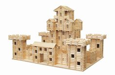 Wooden Toy Castles, Cities, Farms, Villages, Towns | Baltic Wood Houses