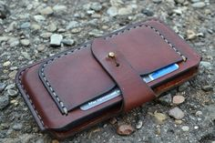 Case for iPhone 6 - Handmade Leather iPhone 6 Pouch / - Pouch -