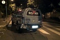 #News  Médico embriagado bate em viatura da PM parada em sinal no Lourdes