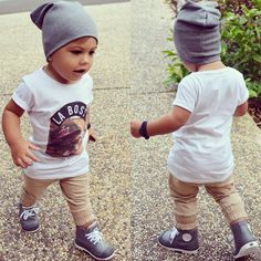 <3 Cute Baby Boy Outfits, Cute Outfits For Kids, Cute Kids, Cute Babies, Kid Swag, Baby Swag, Trendy Kids, Stylish Kids, Toddler Boy Fashion