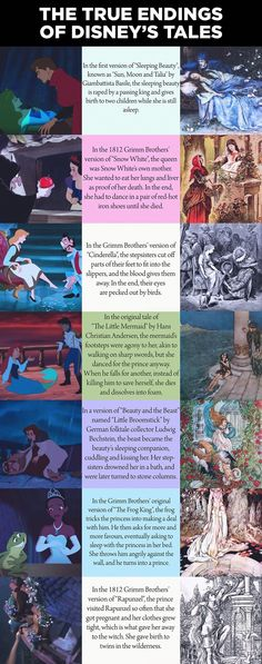 The True Ending of Disney Tales - just a little life destroyer for you If you haven't read the Brothers Grimm