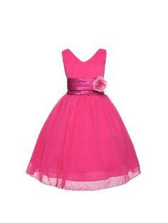 V-Neckline Chiffon Flower Girl Dress, http://www.amazon.com/dp/B00KIZTO68/ref=cm_sw_r_pi_awdm_6iyzub0S0FPJZ