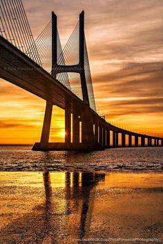 Ponte Vasco da Gama,  Lisboa, Portugal