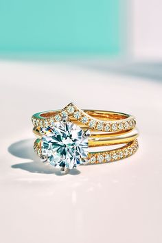 Engagement Ring Shapes, Engagement Ring Settings, Diamond Engagement Rings, Diamond Bands, Gold Bands, Tiffany Band, Jewelry Accessories, Jewelry Design, Diamonds And Gold