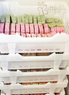 Soap Curing Racks from Butterfly Butters