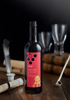 English red wine from Bearley Vinyard. #redwine #wine #beverage #shakespear #lifestyle photography #Bottle #Bard