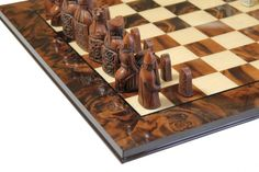Isle of Lewis Luxury Walnut Chess Set Available @ http://www.officialstaunton.com/collections/themed-chess-sets/products/isle-of-lewis-luxury-walnut-chess-set