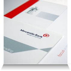 Mercantile Bank:   Sales brochure pack offering sheet detail.