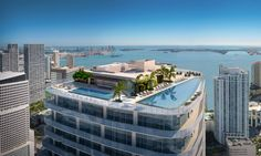 SLS LUX IN BRICKELL RESIDENCES FEATURES:  •Stunning views of Biscayne Bay and the Miami skyline. FOR MORE INFO CONTACT ME AT 305-300-2080