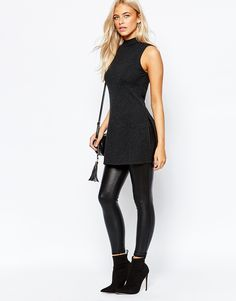 Image 4 of Oasis High Neck Sleeveless Top