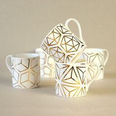 The most beautiful mugs, want want want!