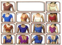 Latest Blouse Designs 2011 Images | Catlog of Blouse Neck New Designs 2011