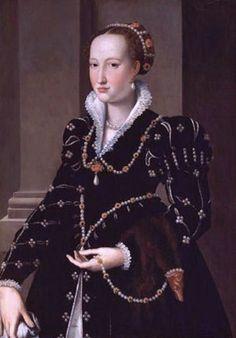Agnolo Bronzino. Isabella de Medici (1542-1576).