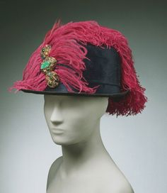 1914 Jeanne Lanvin Hat via The Philadelphia Museum of Art