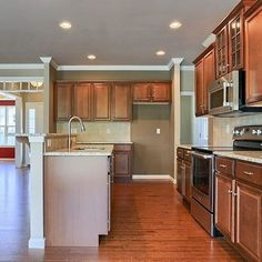 Reduced $5,000! The #kitchen in the #Providence model 412 Fieldstone Drive, #Annville at the #MeadowsOfBachmanRun.