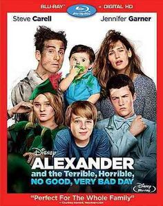 Alexander & The Terrible Horrible No Good Very Bad Day (Blu-Ray/Dhd)