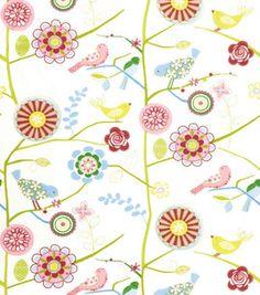 Home decor fabric -- draw parfait print :)