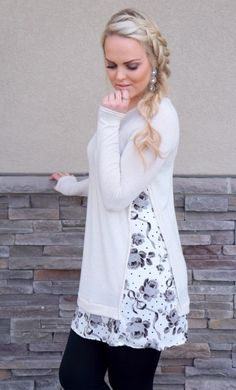 Floral Panel Tunic